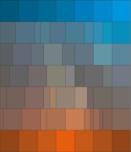 warme farben malerei, kalt-warm-kontrast, Innenarchitektur