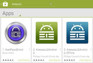 Installation unter Android