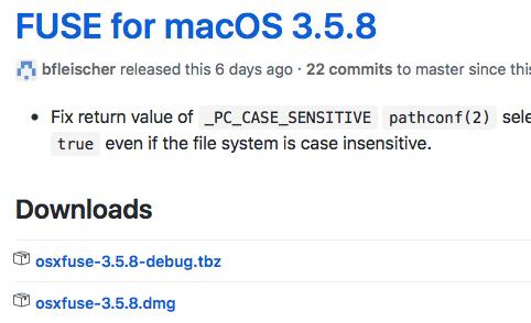 VeraCrypt-Installation für macOS
