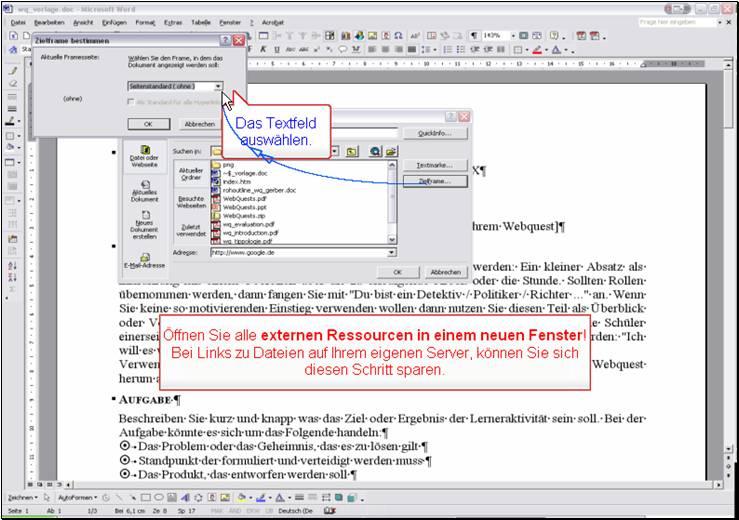 Html Neues Fenster : word als html editor ~ A.2002-acura-tl-radio.info Haus und Dekorationen