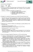 Lösungshinweise zu Arbeitsblatt 11