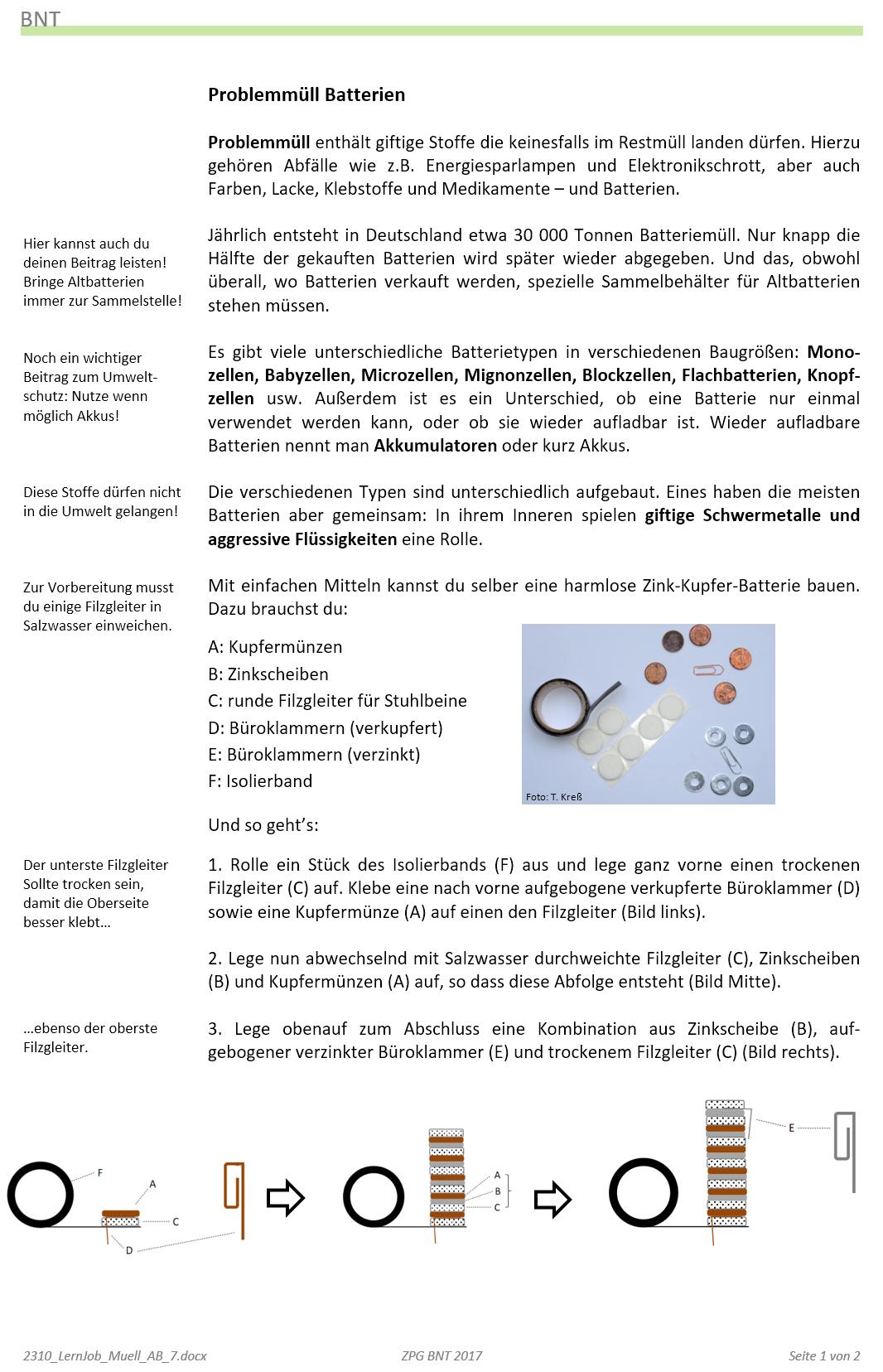 Arbeitsblatt 7