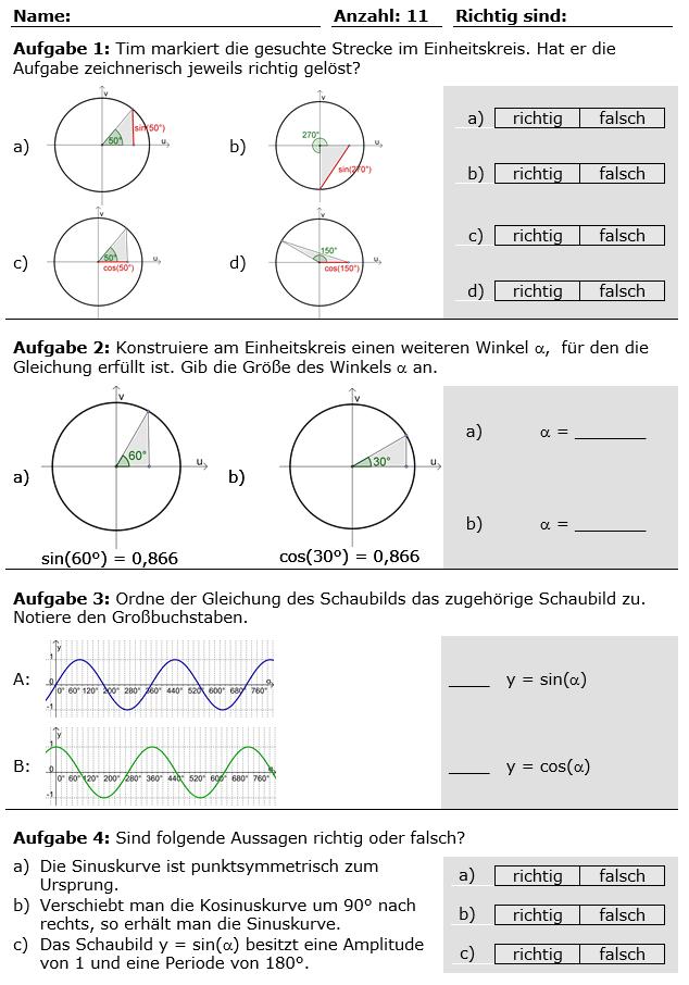 Fantastisch Trigonometrische Gleichungen Arbeitsblatt Bilder ...