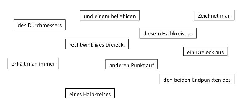 Paralleldifferenzierte Aufgaben - Arbeitsblatt A