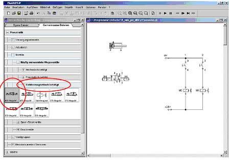 5.3.2 Erstellen des pneumatischen Schaltplans