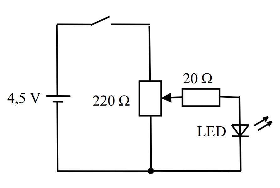 Betrieb einer LED
