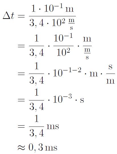 Formeln berechnen