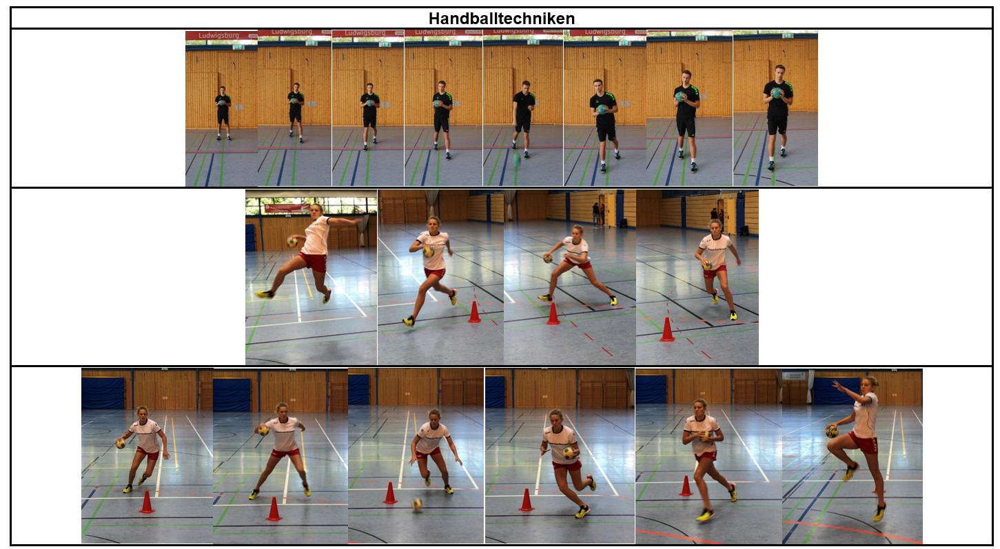 Schrittregel Handball