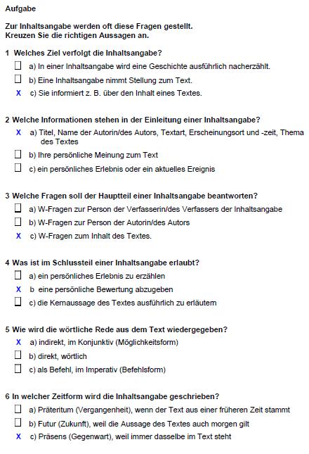 Lösung I2 Kriterien Aufgaben