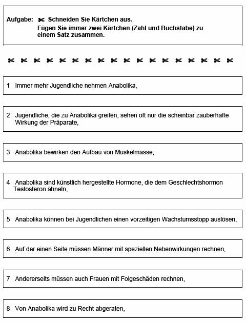 s6 niveau b argumentieren behauptung und begrndung zuordnen herunterladen pdf 95 kb - Behauptung Begrundung Beispiel