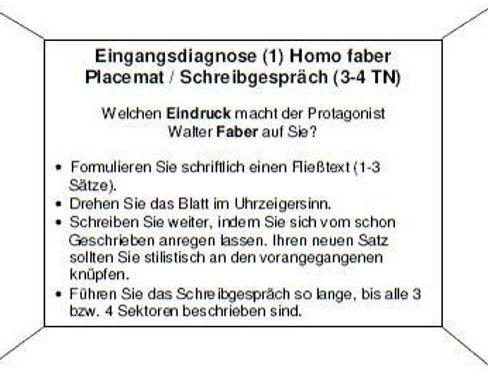 Placemat Schreibgespr 228 Ch