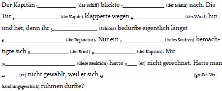 Baustein 3 9 genitiv for Wegen dativ oder genitiv