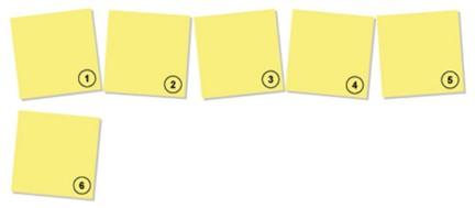 arbeitsblatt sticky notes. Black Bedroom Furniture Sets. Home Design Ideas