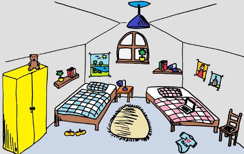 La casa misteriosa parte iii for Zimmer auf spanisch